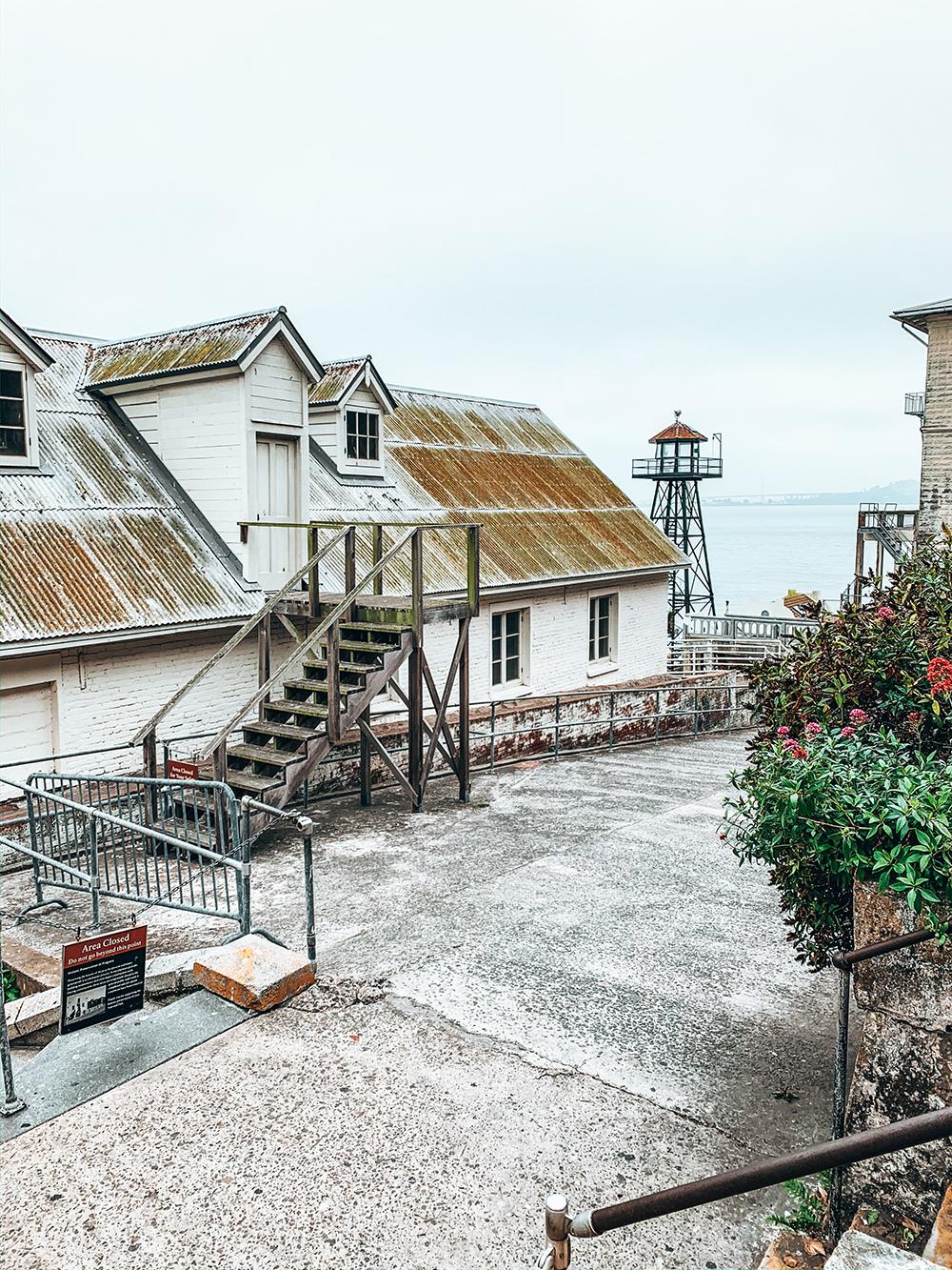Extérieur d'Alcatraz