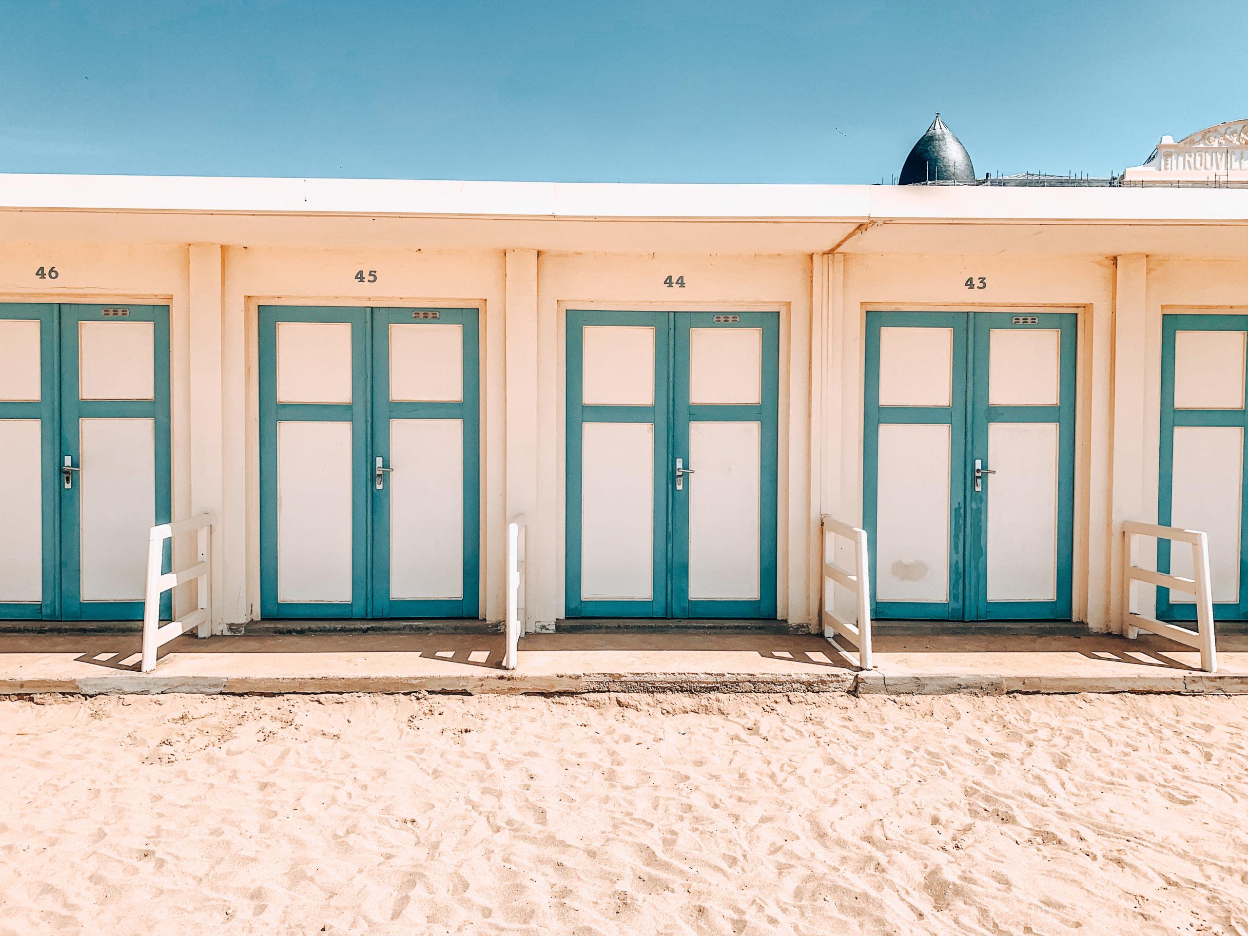 Cabane de plage Trouville