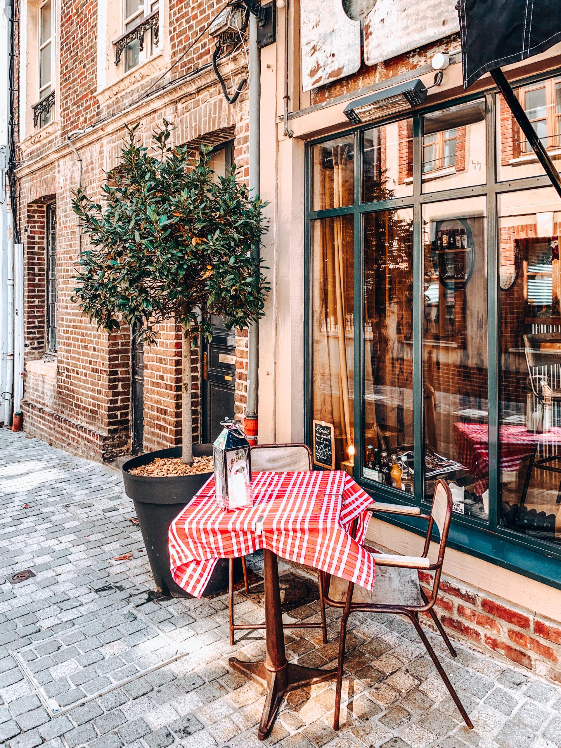 Terrasse restaurant Honfleur